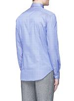 Slim fit stripe cotton shirt