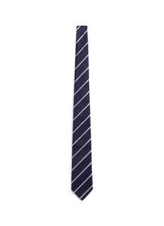 Armani CollezioniRegimental stripe diamond jacquard tie