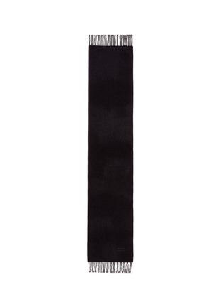 首图 - 点击放大 - ARMANI COLLEZIONI - 流苏羊绒围巾