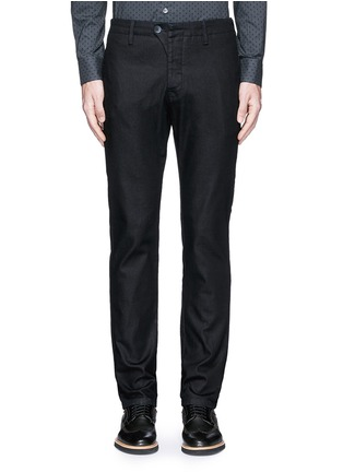 Main View - Click To Enlarge - Armani Collezioni - Straight leg denim pants