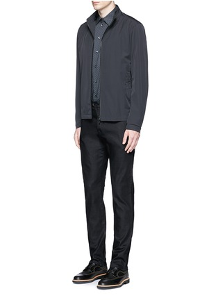 Figure View - Click To Enlarge - Armani Collezioni - Straight leg denim pants