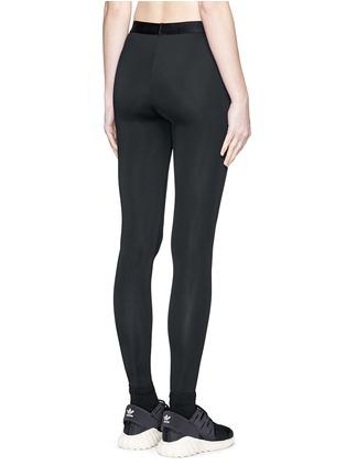 背面 - 点击放大 - BETH RICHARDS - Masi品牌标志打底裤
