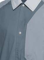 Patchwork bench jacket