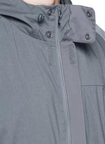 Long patchwork coat