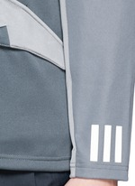 Patchwork jersey jacket