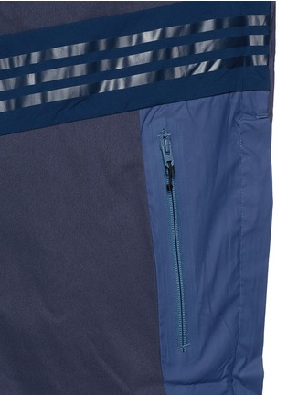Detail View - Click To Enlarge - Adidas By White Mountaineering - Long patchwork coat