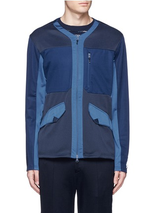 Main View - Click To Enlarge - Adidas By White Mountaineering - Patchwork jersey jacket