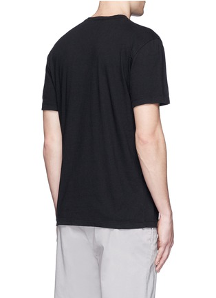 Back View - Click To Enlarge - James Perse - Crew neck cotton slub jersey T-shirt