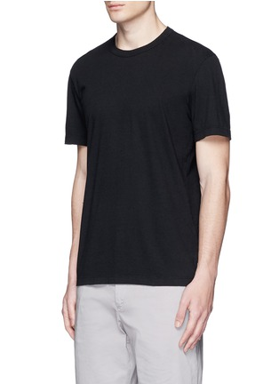 Front View - Click To Enlarge - James Perse - Crew neck cotton slub jersey T-shirt