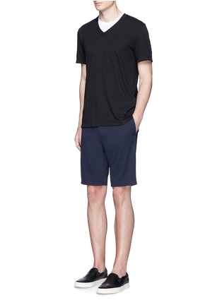Figure View - Click To Enlarge - James Perse - V-neck cotton slub jersey T-shirt