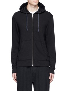 James Perse Vintage fleece zip hoodie