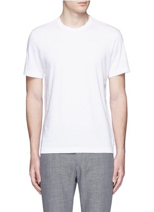 Main View - Click To Enlarge - James Perse - Crew neck cotton slub jersey T-shirt