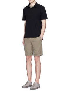James Perse Crew neck cotton slub jersey T-shirt