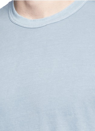 Detail View - Click To Enlarge - James Perse - Crew neck cotton slub jersey T-shirt