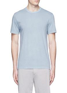James PerseCrew neck cotton slub jersey T-shirt
