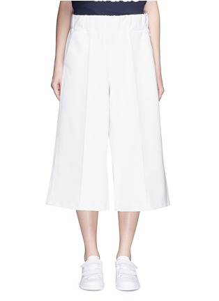 Main View - Click To Enlarge - ADIDAS X HYKE - 'HY' elastic waist wide leg pants
