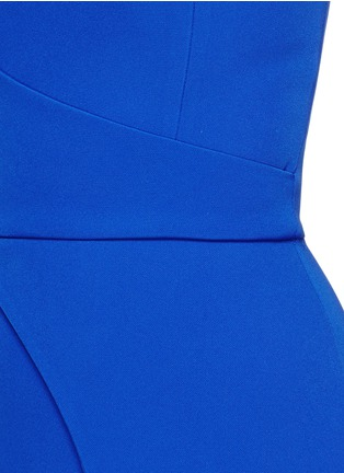 Detail View - Click To Enlarge - Nicholas - Tech bonded curve front split dress