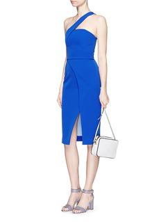 NICHOLASTech bonded curve front split dress