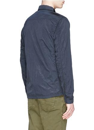 背面 - 点击放大 - STONE ISLAND - 皱褶感尼龙衬衫式外套