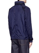 'Nylon Metal' crinkled jacket