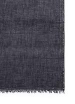 'Lucciola' sequin border virgin wool scarf
