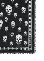 Classic skull modal-silk scarf