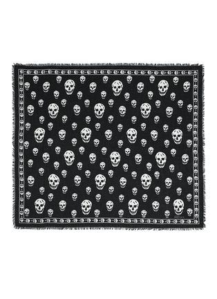 Alexander McQueen-Classic skull modal-silk scarf