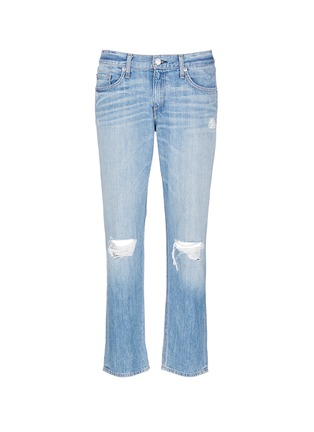Main View - Click To Enlarge - rag & bone/JEAN - Distressed boyfriend jeans
