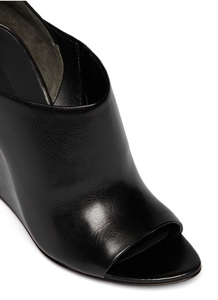 Detail View - Click To Enlarge - Alexander Wang  - 'Alla' cutout wedge sandals