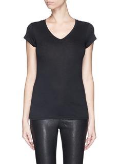 VINCEV-neck T-shirt