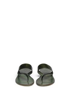 ÁLVARO GONZÁLEZ'Alberta' leather sandals