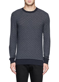 THEORY'Syndro' stripe sweater