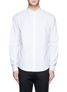 THEORY 'Stephan' cotton poplin shirt