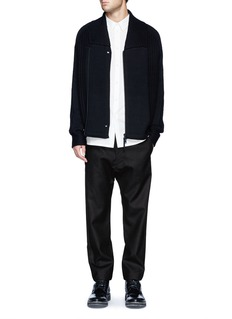 HELMUT LANGStretch poplin minimalist shirt