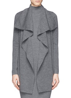 THEORY 'Trincy' drape cardigan