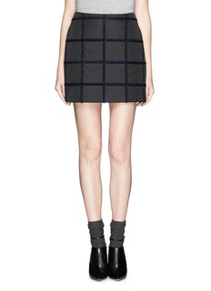 3.1 PHILLIP LIM Grid cotton-blend skirt