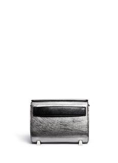 ALEXANDER WANG 'Chastity' mini metallic leather satchel