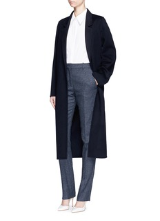 Victoria Beckham Prince of Wales check wool pants