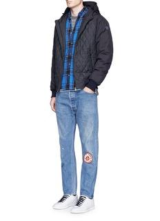 Scotch & SodaTech fabric sleeve blouson jacket