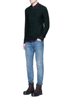 Scotch & SodaSlub wool-cotton blend sweater