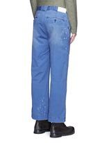 Paint splatter worker pants
