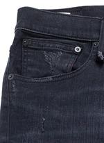 'Skate' distressed slim fit jeans