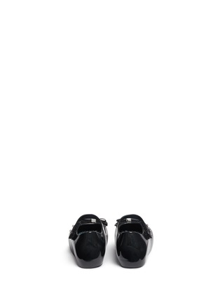 Back View - Click To Enlarge - Melissa - x Jason Wu 'Ultragirl' bow toddler Mary Jane flats