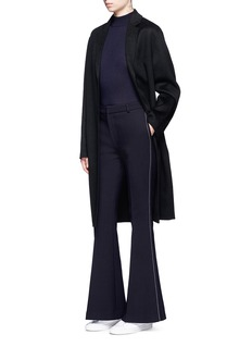 Comme MoiWool blend flared pants