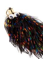 'George' ethical Turkey feather keyring