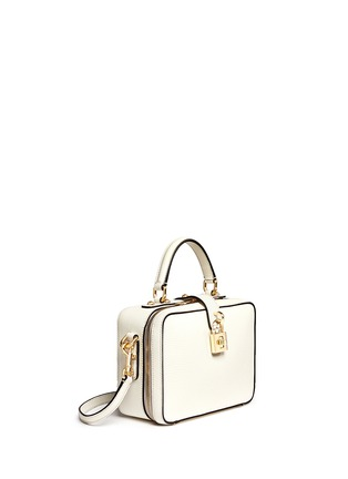 Figure View - Click To Enlarge - Dolce & Gabbana - 'Dolce Soft' drummed calfskin leather bag