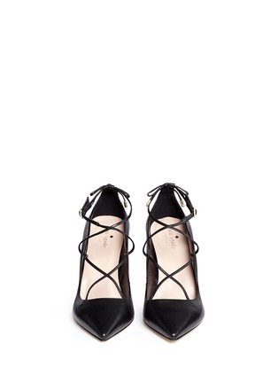 Kate Spade - 'Priscilla' lace-up leather pumps