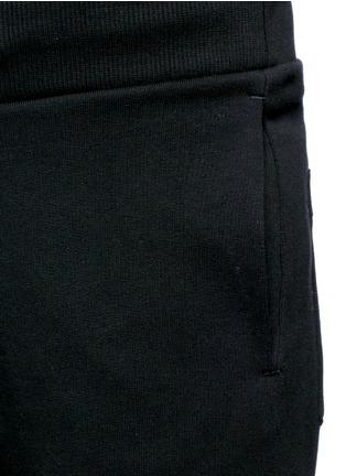 Detail View - Click To Enlarge - KENZO - Logo print cotton sweatpants