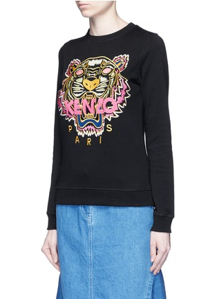 Front View - Click To Enlarge - KENZO - 'Tiger' embroidery sweatshirt