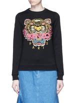 'Tiger' embroidery sweatshirt